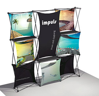 Kit exposition for Montage stand parapluie