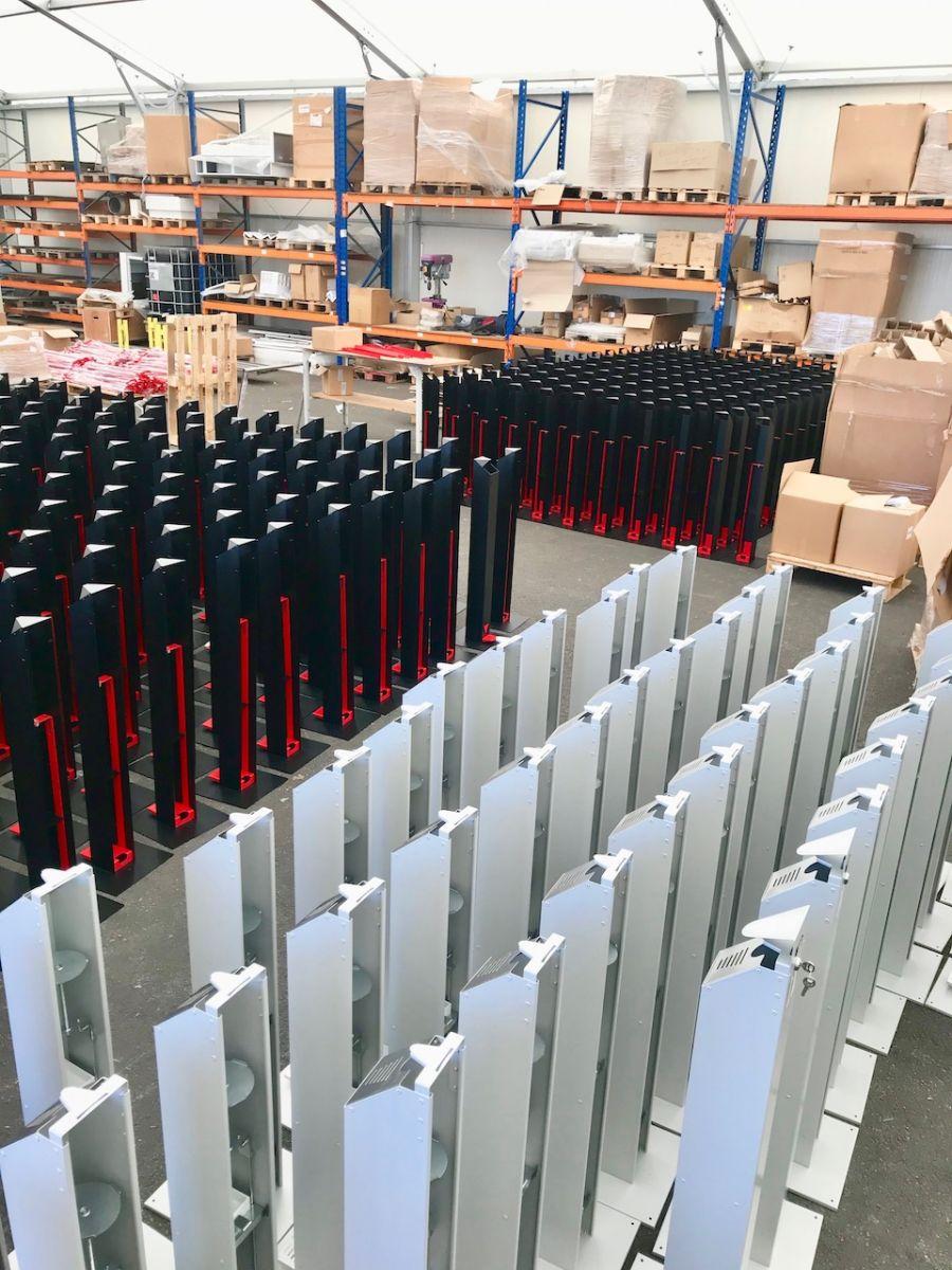 fabricant de distributeur de gel hydroalcoolique sans contact