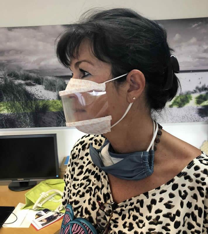 masque transparent enseignants