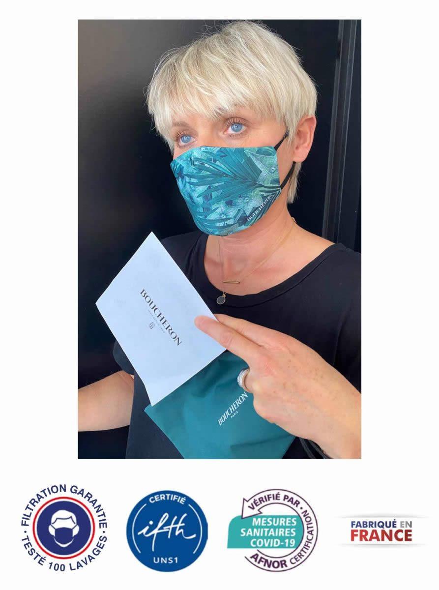 masque en tissu premium