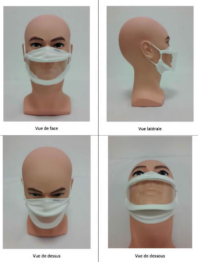 port du masque inclusif