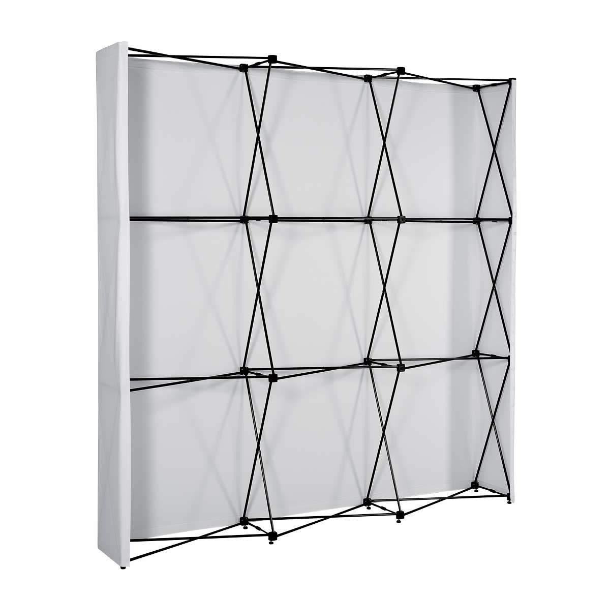structure stand parapluie tissu droit tours