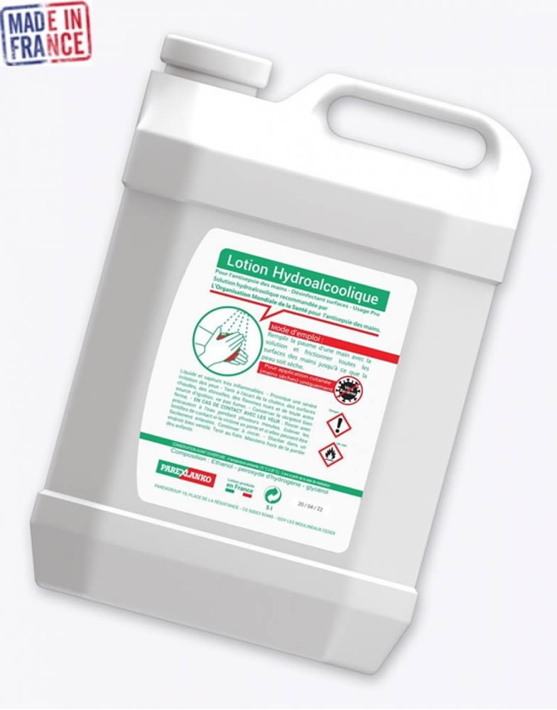 bidon de gel hydroalcolique publicitaire contre covid 19