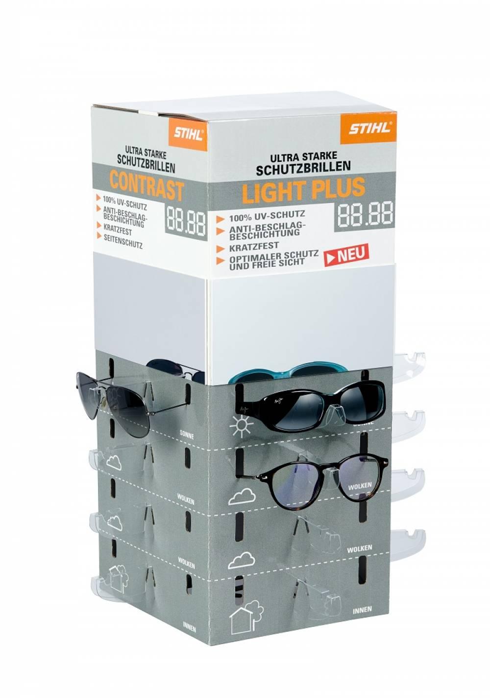 presentoir à lunettes de comptoir
