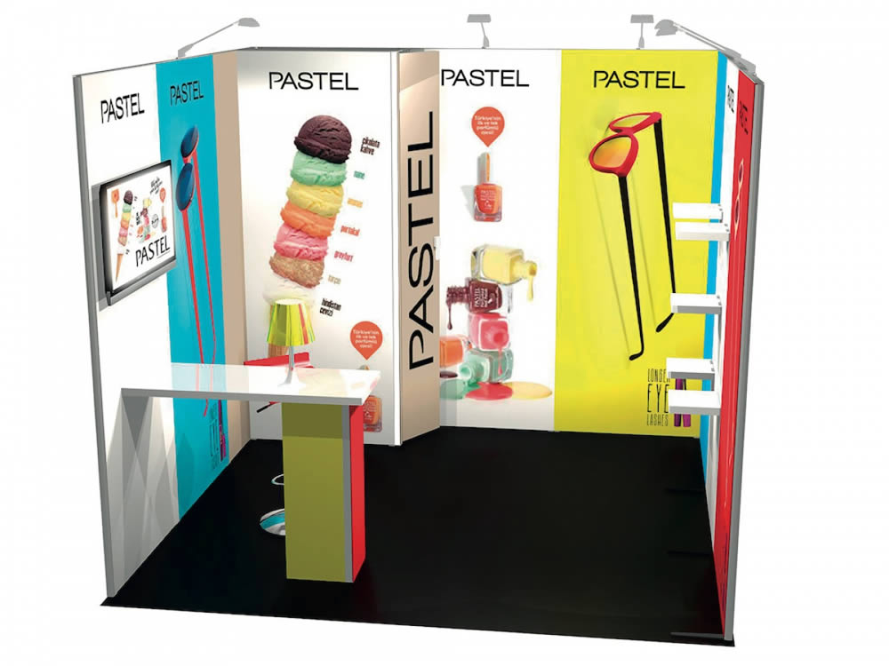 stand 9m2 reconfigurable Paris