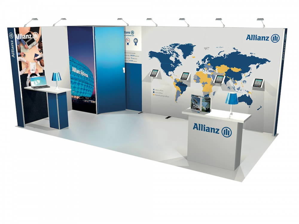 stand Allianz vue perspective