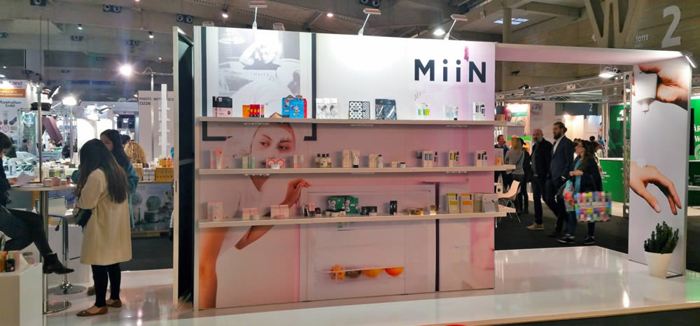 stand modulaire Miin