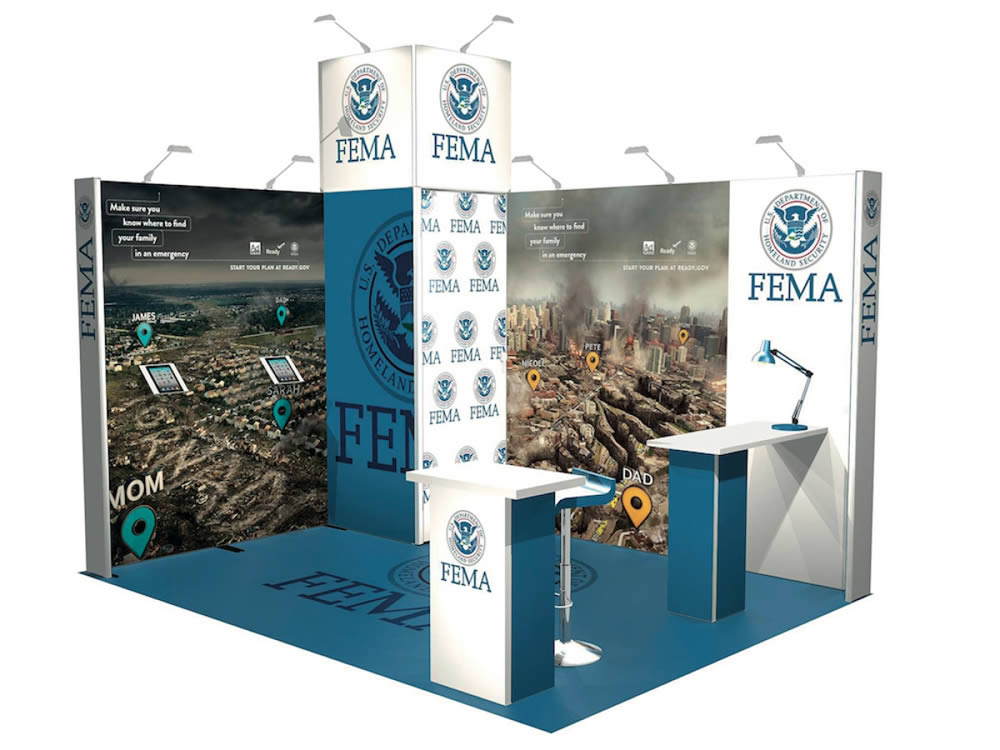 stand reconfigurable moderne