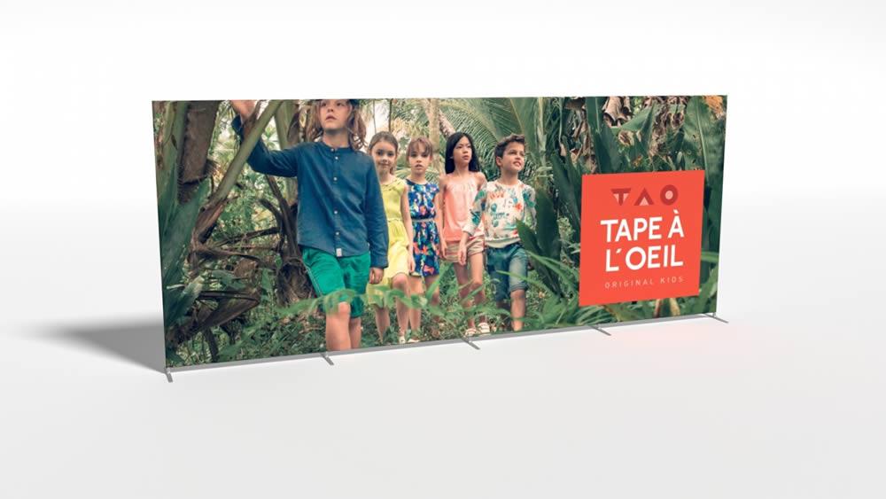 stand tissu TAPE A L' OEIL - TAO