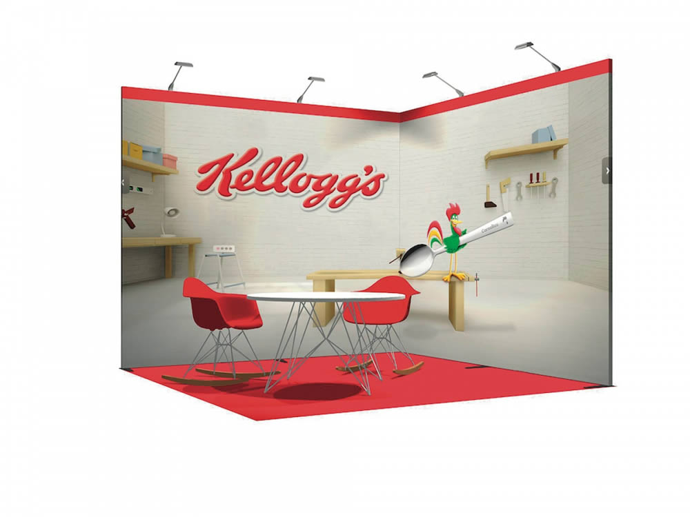 stand transportable Kellogg's