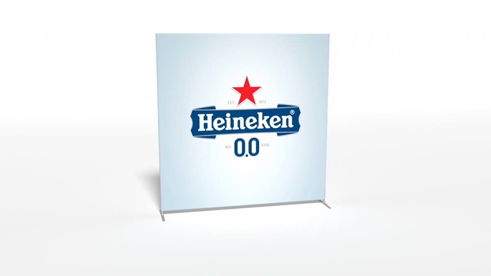structure d'exposition Heineken