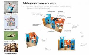 achat location stand modulaire