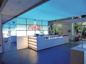 cadre lumineux Coca-Cola