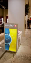 cadre lumineux SWATCH