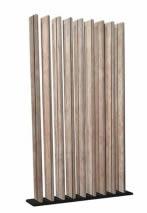 cloison ajourée imititation bois pour amégament de bureau