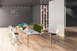 cloison design pour table de réunion
