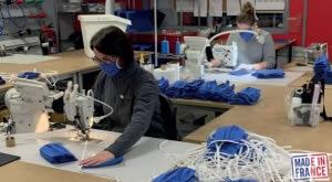 Fabrication française de masques en tissu lavable homologués