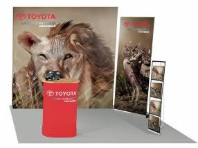 Kit pour salon exposition TOYOTA