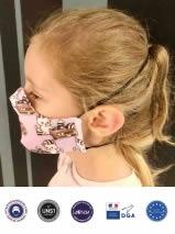 avec Masque enfant ergonomique personnalisé