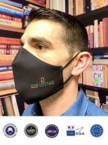 masque en tissu noir afnor