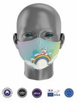 masque enfant UNS1 licorne