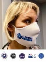 masque ergonomique en tissu personnsalisé