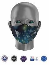 masque ergonomique enfant fée