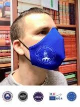 masque ergonomique personnalisé 50 lavages