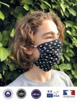 Masque pochon enfant personnalisé