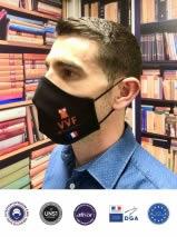 masque tissu ergonomique lavable 50 fois