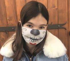 masque tissu lavable pour enfant