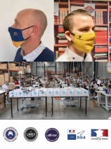 Masque premium personnalisé Afnor