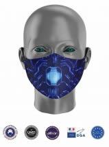 masque tissu uns1 enfant personnalisé