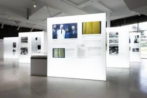 mur rétroéclairé musée