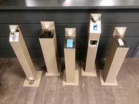 poubelle design et distributeurs besafe