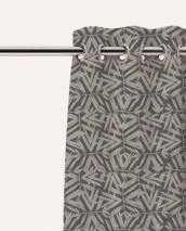 rideaux à oeillets personnalisables tissu m1