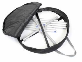 sac de transport ouvert pour table ronde