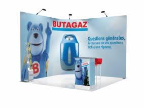 stand Butagaz rendu 3D