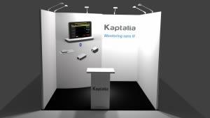 stand Kaptalia rendu 3D