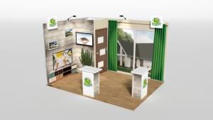 stand maison LG 12 m2