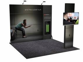 stand Motorola rendu 3D