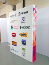 stand photocall pliable