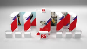 stand RS Components version 1 rendu3 D