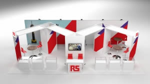 stand RS Components version 2 rendu3 D