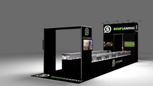 stand Scuf Gaming 3D vue en perspective