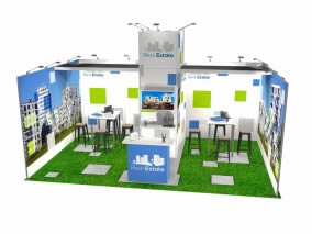 24 m² stand reconfigurable-36