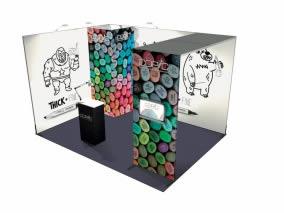 Stand design avec 12m² stand sur mesure-36