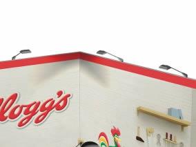 stand transportable Kellogg's vue de droite
