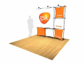 stand transportable pliable GSK