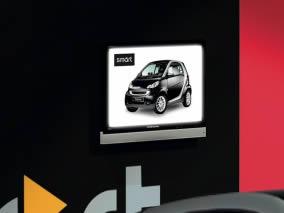 stand transportable Smart vue de coté